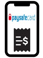Deposit with PaysafeCard in the online casino